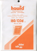 Hawid Stamp Mounts - 160 x 120mm - Clear