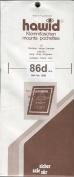 Hawid Stamp Mounts - 210 x 86mm - Black