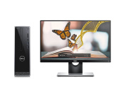 Dell Inspiron 3000 Small Desktop Tower (Intel Pentium Dual Core N3700 Processor, 8GB RAM, 1TB HDD) with 60cm Widescreen Monitor