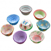 Szaerfa 100 PCS Paper Cake Cup Liners Baking Muffin Kitchen Cupcake Cases