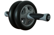 Ab Wheel - Pro Double Roller For Heavy Duty Core Exercises and Workouts