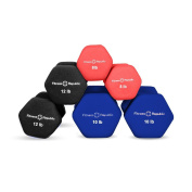 Fitness Republic Neoprene Dumbbell Pairs, Free Hand Weights