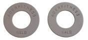 Olympic Fractional Plates in 0.25, 0.5, 0.75, 0.5kg