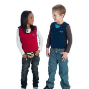 Red Weighted Compression Vest for Kids & Adults – Calming for Sensory Diet, Steady Proprioceptive Input – Machine Wash