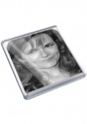 LEA THOMPSON - Original Art Coaster #js001