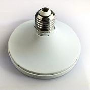 Lamp holder conversion E27 / E14 lampholders out of the GX53 / GX70 lamp holder, for different lamps lamp conversion , white