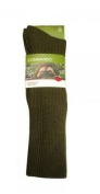 HJ Hall Commando Olive Men's Wool Rich Socks - New
