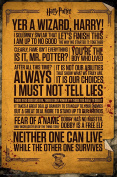 Harry Potter Quotes Maxi Poster, 61 x 91.5 cm