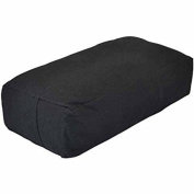 YogaDirect Supportive Rectangular Cotton Yoga Bolster