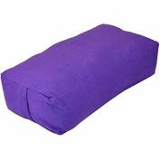 YogaDirect Supportive Rectangular Cotton Yoga Bolster