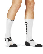 Tommie Copper Men's Performance Sonar Athletic Crew Socks