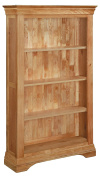 Bordeaux Solid Oak 1.5m Large Bookcase / French Inspired Oak Bookcase / Living Room Furniture / Home Furniture