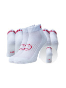 WackySox Three Pairs Supersaver Trainer Sports Socks England