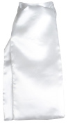 Horka Stock Tie Of Satin White Ladies Mens Horse Riding Competition Accessories