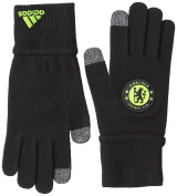 adidas CFC Gloves - Guantes for men, Colour Black / Yellow, Size