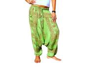 Revital Imports Women Boho Yoga Hippie Baggy Aladdin Harem Pants