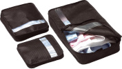 Bag Packers Tidy Case Luggage Packing Cubes Set of 3 -