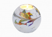 Friendship Mini Globe Tea Light in a White Colour