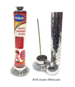 Incense Stick Holder Silver Stainless Steel Diwali and Festive Item Hindu