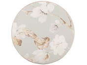 Creative Tops Duck Egg Floral Bird Cork-Back Premium Round Coasters, Set of 4