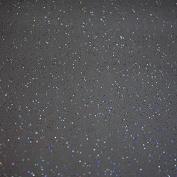 Glittery Glitter Slate Grey Wipe Clean Tablecloth Vinyl PVC by Karina Home 200cm x 137cm