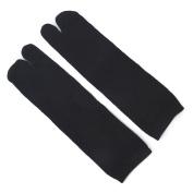 MORESAVE 3 Pairs Elastic Cotton Tabi Toe Socks Flip-Flop Socks