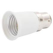 Sonline B22 to E27 Light Lamp Bulb Socket Adapter Convertor New