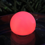 8cm Colour Changing Floating LED Mood Ball Light - Waterproof Lamp for Bath, Pool, Ponds by PK Green