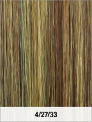 LORD & CLIFF EVITA SIX PIECE STRAIGHT HUMAN HAIR CLIP IN EXTENSION 36cm
