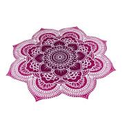 AutumnFall® Round Beach Pool Home Shower Towel Blanket Table Cloth Yoga Mat