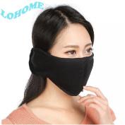 LOHOME (TM) Winter Unisex Soft Cotton Anti Dust Earmuffs Ski Sport Cycling Warm Windproof Protective Mouth-muffle Fashionable Earcap Half Face Mask