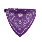 Puppy Scarf,Haoricu Adjustable Pet Dog Cat Bandana Neck Collar Neckerchief