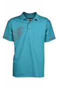 "Fayde Golf Men's Aqua Event Fashion Golf Polo, Comfort Fit, TASTEX Hygienic Finishing, Rescue Fabric, Moisture Wicking, Anti-Bacterial, Fayde Logo on the Collar. ""Feel The Swing, Not The Shirt"""