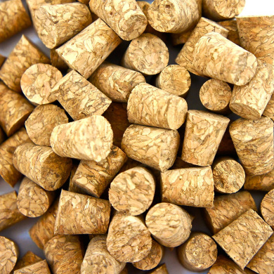100 Pcs Small Body Natural Piercing Corks for Needles Tool Stopper Jewellery Stud