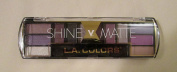 L.A. Colours 12 Colour Eyeshadow Palette - Shine vs. Matte - Enchanting Beauty - 10ml