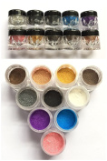 XICHEN 10 Colours Cosmetics Mineral Eyeshadow Loose Powder, Favourite Colours, 3 grammes of equipment