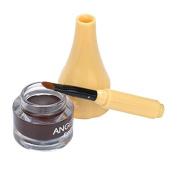 Eyeliner,Baomabao Waterproof Eye Liner Gel Cream Brush Makeup