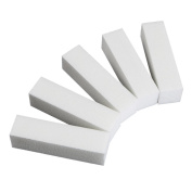 Alonea 20x White Nail Art Tips Buffer Buffing Sanding Block Files Manicure Tools