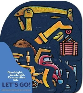 Goodnight, Goodnight, Construction Site: Let's Go! (Goodnight, Goodnight, Construction Site) [Board book]