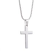 Womens Hoop Earrings / Christian Jesus Fish & Cross Bracelet / Cross Necklace for Boys
