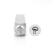 ImpressArt- Mushroom Metal Stamp, 6mm