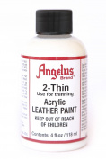 Angelus Brand 2-Thin Acrylic Leather Paint Thinner 120ml