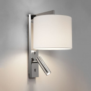 Astro Ravello LED Reader Wall Light in Polished Chrome