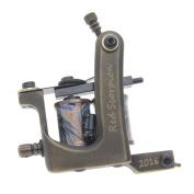 Redscorpion Coil Tattoo Machine Tattoo Gun Brass Frame For Tattoo Supply