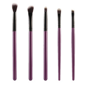 .  5Pcs Makeup Brush,Canserin Lip Eyeshadow Brush Set