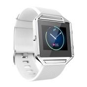 Voberry® Luxury Soft Silicone Watch band Wrist strap For Fitbit Blaze Smart Watch