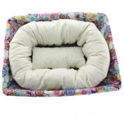 4 PC Newborn Photography ,Buedvo Basket Filler Wheat Donut Posing Props Baby Pillow
