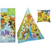 Nickelodeon Turtles Teepee Play Tent and Slumber Bag with Bonus Pillow