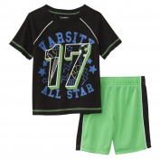 Toughskins Infant & Toddler Boys Varsity All Star T-Shirt & Shorts Set