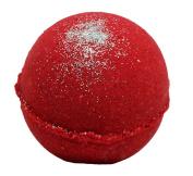 Bath Bomb Little RED Dress 160ml Bath Bomb w Kaolin Clay & Coconut Oil